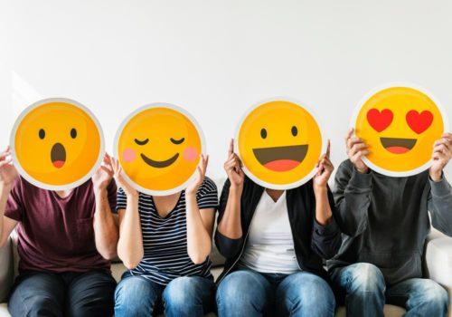 People with emojis